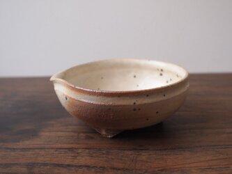 粉引炭化小鉢の画像