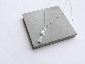 plus=minus/ stick necklace /silver925の画像
