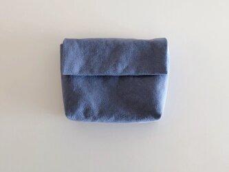 きちんとポーチ M  / bluegrayの画像