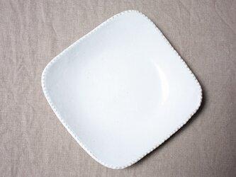 gizagizaしかく皿(大/白)の画像