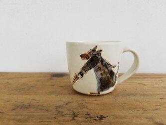 お絵描きカップ(イヌ×ネコ)の画像