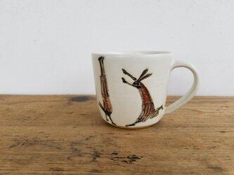 倒立ブリッジうさぎカップの画像