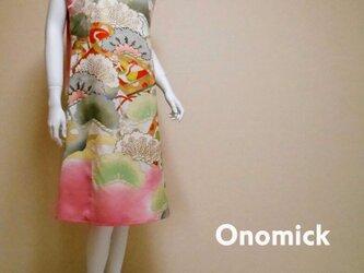 大人かっこいいワンピース  Kimono Dress LO-207/Lの画像