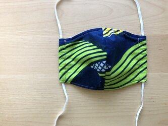 e116-アフリカ布マスク厚手タイプの画像