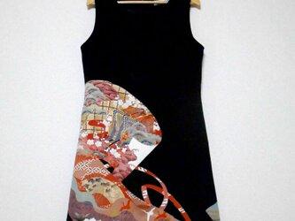 大人かっこいいワンピース Kimono Dress LO-212/Mの画像
