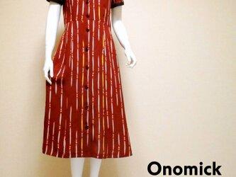 着物シャツドレス Kimonor Shirt dress LO-219/Mの画像