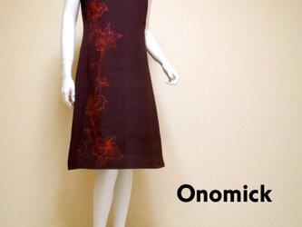 大人かっこいいワンピース Kimono Dress LO-220/Sの画像