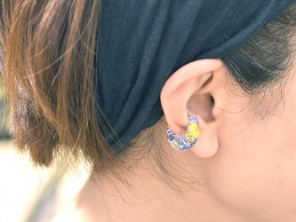 野原の花束【片耳】イヤーカフの画像