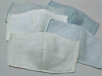 インナーマスク〜インド綿×ガーゼの画像