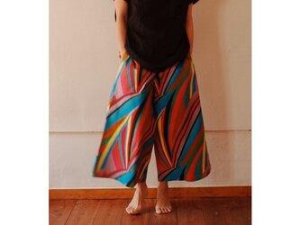 ピーターパンツ color stripeの画像