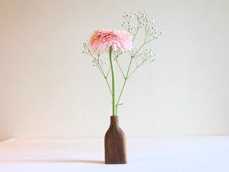 木の花瓶【チーク】の画像