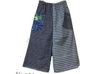 No954 男女兼用 浴衣地パンツの画像