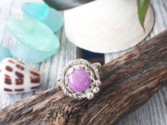【13号】silver925  phosphosiderite ringの画像
