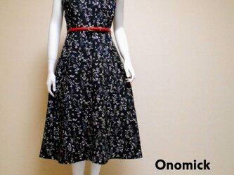 Vネック着物ドレス V-neck Kimono dress LO-222/Mの画像