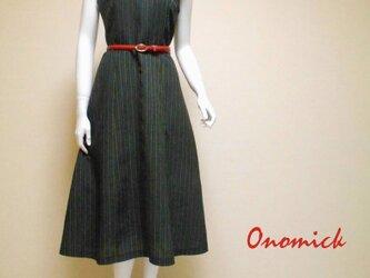 Vネック着物ドレス V-neck Kimono dress LO-224/Sの画像
