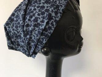 ターバン風帽子 Sサイズ (小花柄)の画像