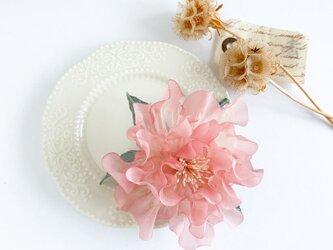 """Corsage : コサージュ """" 芍薬の花 """"   ピンク  の画像"""