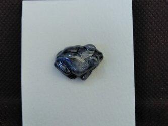 動物石 ピンズ アマガエル(灰色)の画像