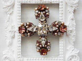 cross ローズクリスタル(ブローチ)の画像