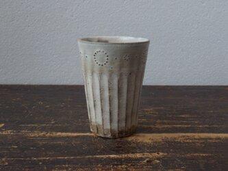 粉引きフリーカップ(丸)の画像