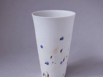 磁器フリーカップ feeling glass glaze-1の画像