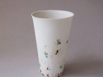 磁器フリーカップ feeling glass glaze-2の画像