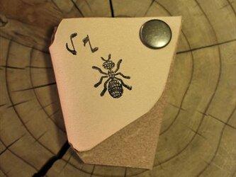 イヤホン&コードフォルダー 蟻の画像