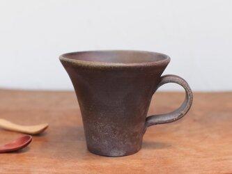 備前焼 コーヒーカップ(中) c1-076の画像