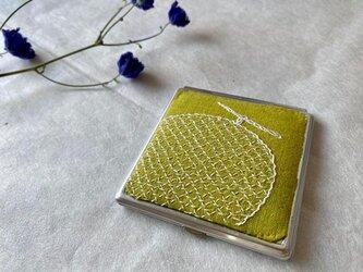 コンパクトミラー メロンの画像