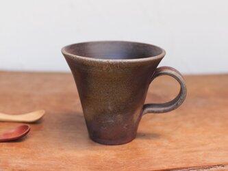 備前焼 コーヒーカップ(中) c1-078の画像