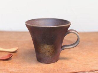 備前焼 コーヒーカップ(中) c1-081の画像
