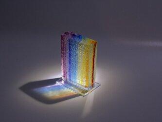 虹のガラスの画像