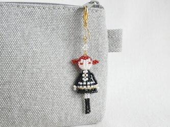 ファスナーチャーム [ヴェラ] ビーズドール・マスコット・人形の画像