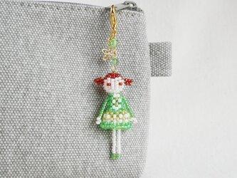 ファスナーチャーム [クレア] ビーズドール・マスコット・人形の画像