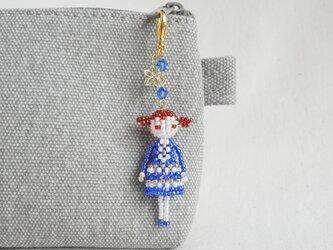 ファスナーチャーム [マリカ] ビーズドール・マスコット・人形の画像