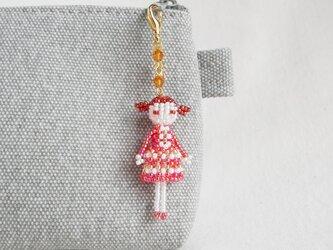 ファスナーチャーム [マルゴ] ビーズドール・マスコット・人形の画像
