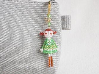 ファスナーチャーム [レンカ] ビーズドール・マスコット・人形の画像