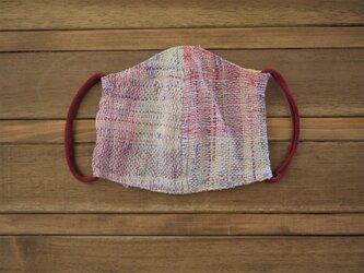 手織り ダブルガーゼ マスクの画像