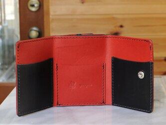 コンパクトな3つ折り財布 No.2 ブッテーロの画像