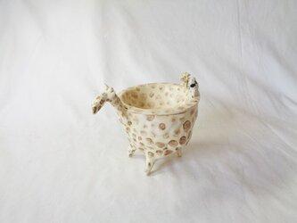 植木鉢 キリンの画像