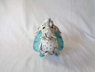 ナスの香炉の画像