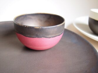 bowl(S) / colors:pink+bronzeの画像