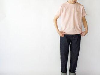 pockets tee/pinkの画像