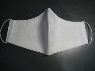 木綿柄物で頬っぺたすっぽり立体マスク【大】の画像