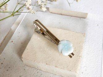 《父の日》木箱ラッピング◇ 木槿 : 青白磁 : ネクタイピンの画像