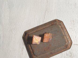 四角いイヤリングno.1の画像