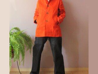 bighug パラフィン朱ライダーズジャケットの画像