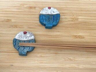 梅干しごはんの箸置き(2個入り)の画像