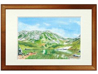 世界で1枚の絵 水彩画原画「立山室堂」の画像