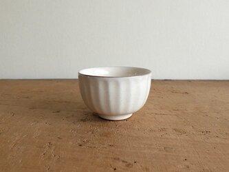 ソギ碗  粉引きの画像